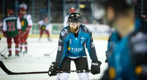 Belfast Giants spelare Ciaran Long.