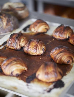 Pain au chocolat på Krus. Pressbild: Erik Olsson