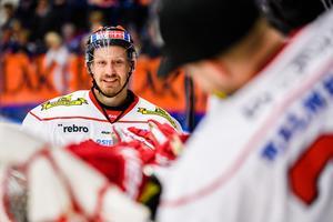 Marcus Weinstock förlänger kontraktet med Örebro Hockey. Bild: Jonas Ljungdahl/Bildbyrån