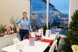 Frida Jansson, tf butikschef på Jysk i Sala.