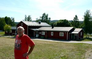 Sista gruppboendet i Torpshammar. När hustrun Ingrid dog fick Kenit Ankarkrona flytta till ett eget boende.