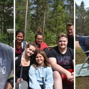 De tältar utanför Dreamhack | Falköpings Tidning