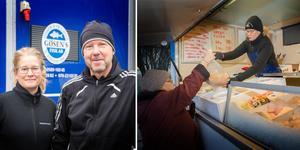 Anna-Karin och Anders Holmberg slutar med fiskförsäljning runt om i Västmanland.