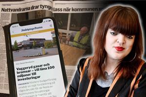 För första gången tar tidningen emot ett presstöd som ska gå direkt till den lokala journalistiken - vilket är välkommet, skriver onlinechef Patricia Svensson.