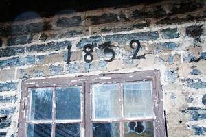 Slaggstenshuset är från 1839.