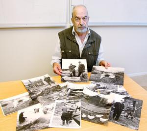 Tage Berggren fotograferade katastrofplatsen från luften direkt efter händelsen. Någon timme senare även från marken.