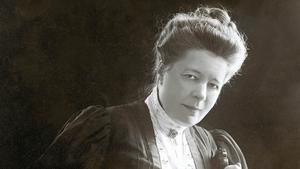 Selma Lagerlöf. Bilden är från 1906. Arkivbild