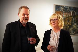 Lena Micko och Kramfors förre kommunalråd Jan Sahlén.