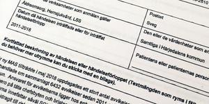 Totalt har Härjedalens kommun missat att behandla eller avsluta 6 432 ärenden i avvikelsesystemet Treserva.