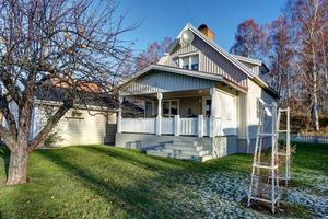 Denna villa på Kämpesgatan i Borlänge hamnade på plats sju på Klicktoppen för vecka 52. Foto: Slagga.se