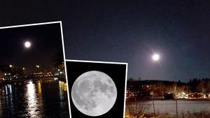 Supermånen på första avdvent.