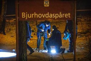 Mordförsök vid Bjurhovdaspåret.