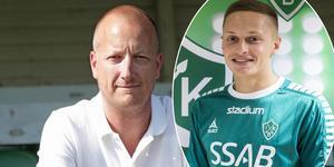 Sportchefen är är nöjd med värvningen av Nikita Kasaev. Foto: Kristian Bågfeldt/Brage