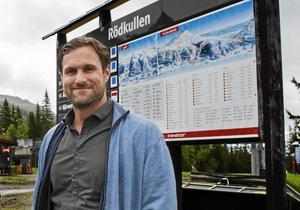 Kommunens fortsatta arbete med planprogramsprocessen får visa hur många bäddar det blir i Rödkullen, enligt Markus Näslund.