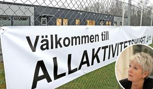 Att kommunen omförhandlar kontraktet med den privata fastighetsägaren är fullt rimligt anser Pia-Maria Johansson (LPO). Bild: Anders Almgren/Thomas Eriksson