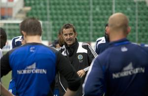 Per Joar Hansen under tiden som GIF-tränare 2008.