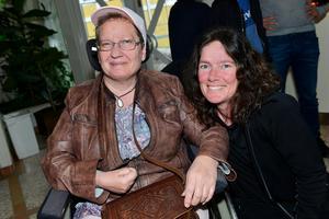 Ingela Hesling och Ulrika Eriksson fanns på plats i Tonhallen.