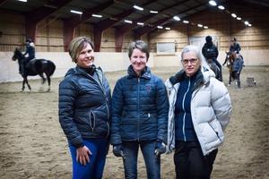 Anna-Lena Lång, Kajsa Nilsson och Susanne Berglin, som sitter i styrelsen, menar att bidraget är A och O för klubbens verksamhet.