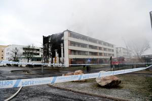 Branden startade sent på kvällen den 16 januari och Skövde Nyheter publicerade i ett tidigt skede nyheten i sina digitala kanaler. Dagen därpå jobbade Skövde Nyheter med bevakning på plats hela dagen.