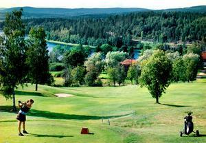 Bild: Mårten Englin Öjestrands golfbana.