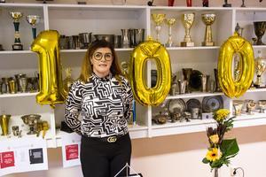 Ordförande Ann-Berit Botngård tror att Stugsunds-andan kommer ge föreningen minst 100 år till.