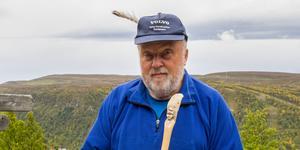 Bo Lundmark berättar jakthistoria från Tänndalen.