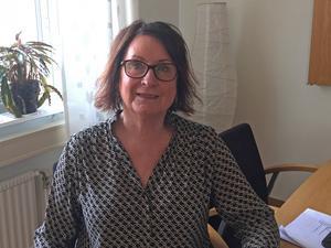 """"""" Jag hade såklart hoppats på färre barn i barngrupperna. Men jag tycker ändå att det är en vinst att få en ny fin förskola"""", säger Jeanette Behrens, förskolechef i Fagersta kommun."""