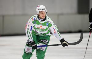 Simon Jansson har dominerat mittfältet mot Hammarby.