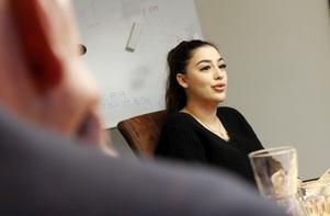 Siva Arifs företag är att driva en app kopplad till motion och hälsa. Hon vill utveckla företaget samtidigt med att hon pluggar.