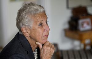 Kerstin Dellert blev 92 år, hon avled 5 mars.