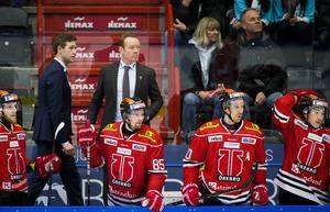 Niklas Eriksson hamnar sist på listan – men den senaste säsongen var kanske hans bästa i tränarkarriären sett till vinster och förluster. Foto: Bildbyrån