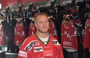 Tobias Enström är Modoit igen efter elva år i Nordamerika.
