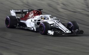 Marcus Ericsson slutade på elfte plats i Singapores GP. Foto: Yong Teck Lim/TT