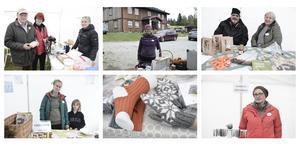 Skördefesten i Långå drog cirka 100 besökare på lördagen.