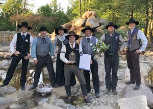 Årets arkitekturpris från Gnosjö kommun tilldelades High Chaparrals guldvaskanläggning Golden Creek.Foto: Pressbild