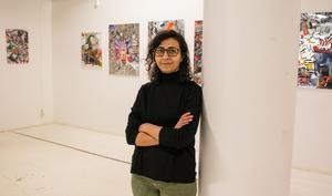 Ghada hoppas på att både unga och äldre hittar till Galleri SoHos nya lokal på Stora gatan, men fram till årsskiftet kommer de ha öppet även i lokalen i Gallerian.