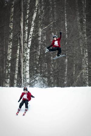 Mycket luft under skidorna!