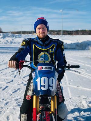 Martin Haarahiltunen slutade fyra i VM-serien förra säsongen.                                                            Bild: Louise Svanqvist