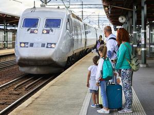 Bygder som har en järnväg är blomstrande, skriver insändarskribenten. Foto: TT