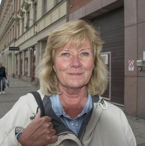 Agneta Andersson, 55, handläggare, Kvissleby.