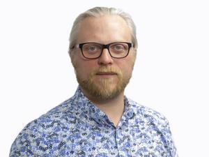 Redaktör Fredrik Björkman.