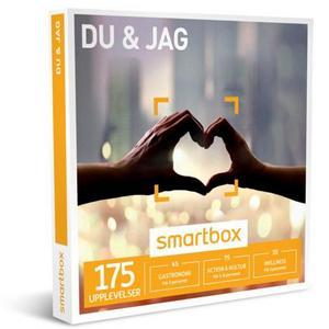 Du & Jag. En rolig eller romantisk upplevelse. Över 175 olika aktiviteter.450 kr, Smartbox.