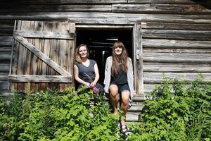 Lina Johansson och Christine Johanson är en del av redaktionen till det nya magasinet Epok.