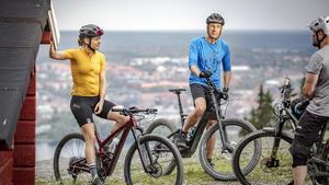 På Frösön finns närhet till både vandrings- och cykelleder och downhillcykling, wakeboards i Surfbukten och golf.