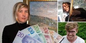 Sofia Wettainen, Patrik Grundström och Ville Hulling återfinns bland årets stipendiater.