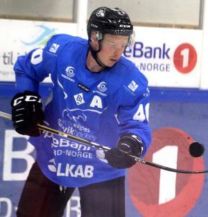 Samuel Åström.                                                          Bild: Narvik IK