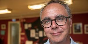 Hans Qviström tycker att gamla flickskolan nyttjas bättre nu än tidigare men skulle gärna se en lösning för annexet intill också.