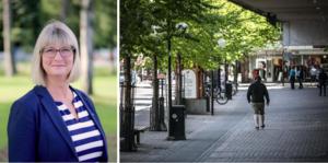 Arbetet för att fler ska känna sig trygga i Borlänge är i full gång, skriver Karin Örjes (C).