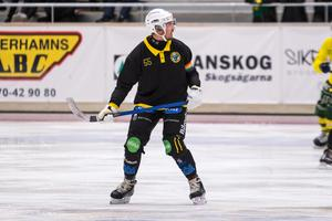 Robert Rimgård spelar inte när Broberg möter ryska mästarna Nefyannik i Helsingehus arena på lördagseftermiddagen.