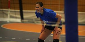Katrina Jansen har dragits med en fotskada sedan försäsongen och bara spelat sporadiskt i elitserien. Men i 3–0-segern mot Värnamo spelade australiern hela matchen för första gången.